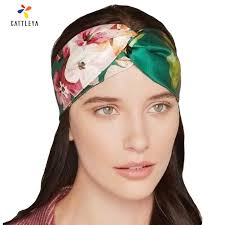 silk headband aliexpress buy summer bohemian silk cross headband with