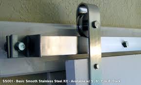 Metal Sliding Barn Doors Agave Ironworks Barn Door Flat Track Hardware Kits U0026 Rolling Door