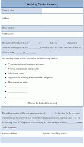 doc 585600 vendor contract agreement template u2013 10 vendor