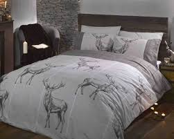 Sizes Of Duvet Covers Highland Stag Natural Duvet Cover Set King Size Linnengoed
