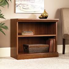2 Shelf Bookcase With Doors Camden County 3 Shelf Bookcase 101783 Sauder
