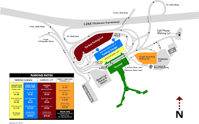 University Of Tennessee Parking Map by Dr Kappa Maps