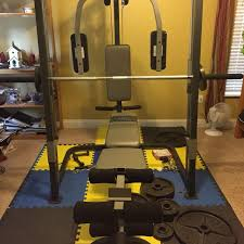 Home Gym Weight Bench Find More Marcy Mp3100 Home Gym With Adjustable Weight Bench And