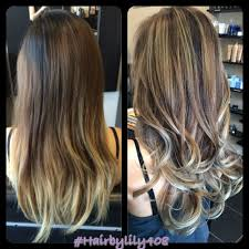 hair by lily back view ombré balayage san jose ca united