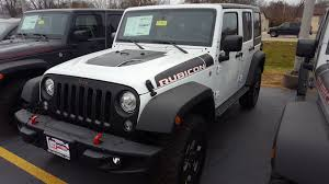 jeep rubicon white white jeep wrangler in illinois for sale used cars on buysellsearch
