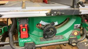 hitachi table saw review hitachi c10rj table saw features and review the hitachi jobsite