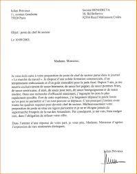 lettre de motivation chef de cuisine cover letter sle to resume resume cover letter learner