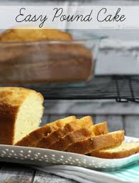 homemade pound cake recipe teaspoon of goodness