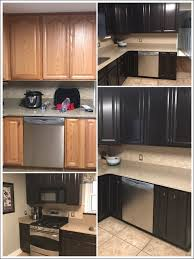 Gel Stain Kitchen Cabinets Before After Kitchen Room Fabulous Grey Gel Stain Over Oak Cabinets What Is