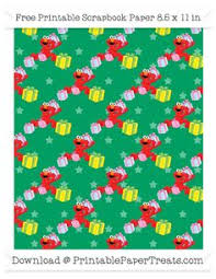 elmo christmas wrapping paper free sky blue large big bird pattern paper sesame