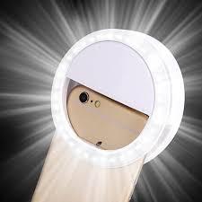 4 led lights mirror circle beauty selfie light ring photo shoot selfie night light 36 led