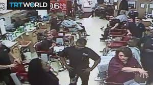 woman in cleveland pulls gun when barber takes too long youtube