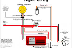 ford starter solenoid schematic wiring diagram simonand