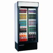 675 litre glass door fridge sliding staycold sd890