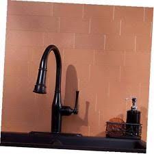 Peel And Stick Metal Backsplash by Copper Tile Ebay