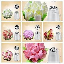 flower decorating tips magic floral icing tips trendilee