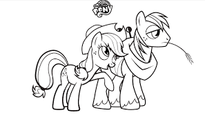 coloring pages of my little pony friendship is magic free