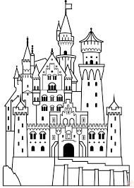 disney castle coloring page bring the magical world of disney to