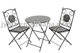 Folding Bistro Table And Chairs Set Mosaic Bistro Set Mosaic Bistro Set Suppliers And Manufacturers