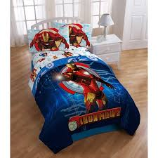 Superhero Twin Bedding Iron Man 2 Twin Bed In A Bag Walmart Com