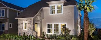 large white nuance exterior design of the florida style ranch