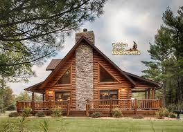 custom design kit home log home by golden eagle log homes golden eagle log logs cabin