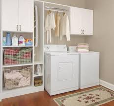 Laundry Room Shelves And Storage Laundry Room Cabinets And Storage Design And Ideas
