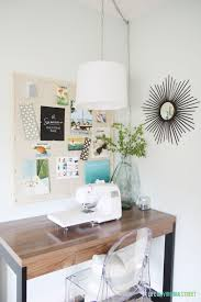 creative thrifty u0026 small space craft room organization ideas