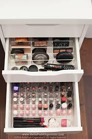 ikea makeup organizer alexandra lipstick organizer organizer fits ikea alex drawers
