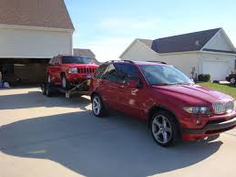 towing with bmw x5 pic of my 4 8is towing xoutpost com