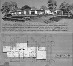 atomic ranch house plans home planners design n1126 a photo on