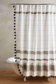 Tassel Curtain Bohemian Style Shower Curtains Hgtv U0027s Decorating U0026 Design Blog