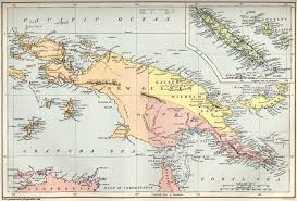 Colonial Map New Guinea Paige West