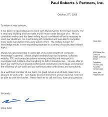 awesome collection of sample of a great recommendation letter for