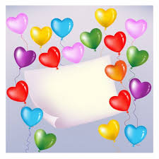 heart shaped balloons colorful heart shaped balloons vectors stock in format for free