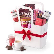 breakfast gift basket gourmet breakfast gift basket in white koziol tote delivery in