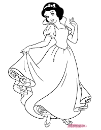 download coloring pages snow white coloring snow white