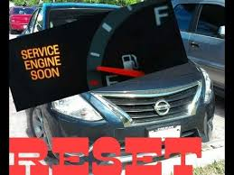 service engine soon light nissan sentra how to reset service engine soon light on a 2017 nissan versa