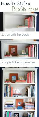 how to style a bookcase how to stage easy sensational bookshelves decorate bookshelves