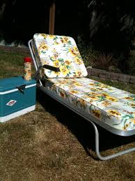 Vintage Chaise Lounge Seattle Junk Love Sold 60 U0027s Vintage Aluminum Chaise Lounge W