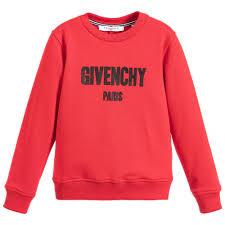 givenchy sweater boys logo sweatshirt childrensalon
