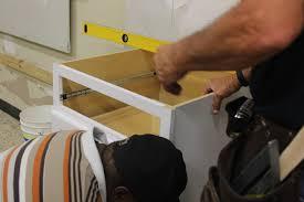 installing kitchen base cabinets workshop cancelled u2014 detroit