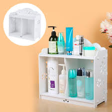 Hanging Bathroom Cabinet 2016 White Wpc Board Storage Cabinet Shelf Wall Hanging Bathroom