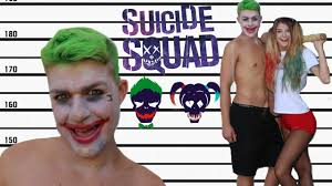 diy joker squad halloween costume youtube