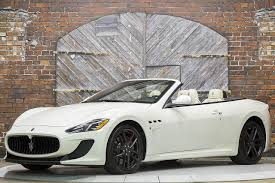 convertible maserati for sale 2013 maserati granturismo mc convertible