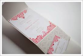 contemporary indian wedding invitations marigold events