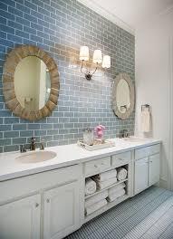 Tile Bathroom Backsplash New Subway Tile Bathroom Backsplash 37 Best For Home Design Ideas
