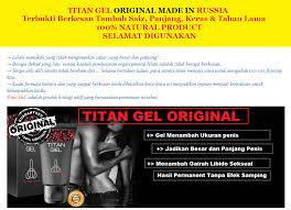 titan gel original terhebat