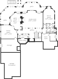house plans with media room avalon spitzmiller and norris inc southern living house plans