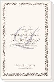 church programs for wedding wedding programs wedding ceremony programs wedding church